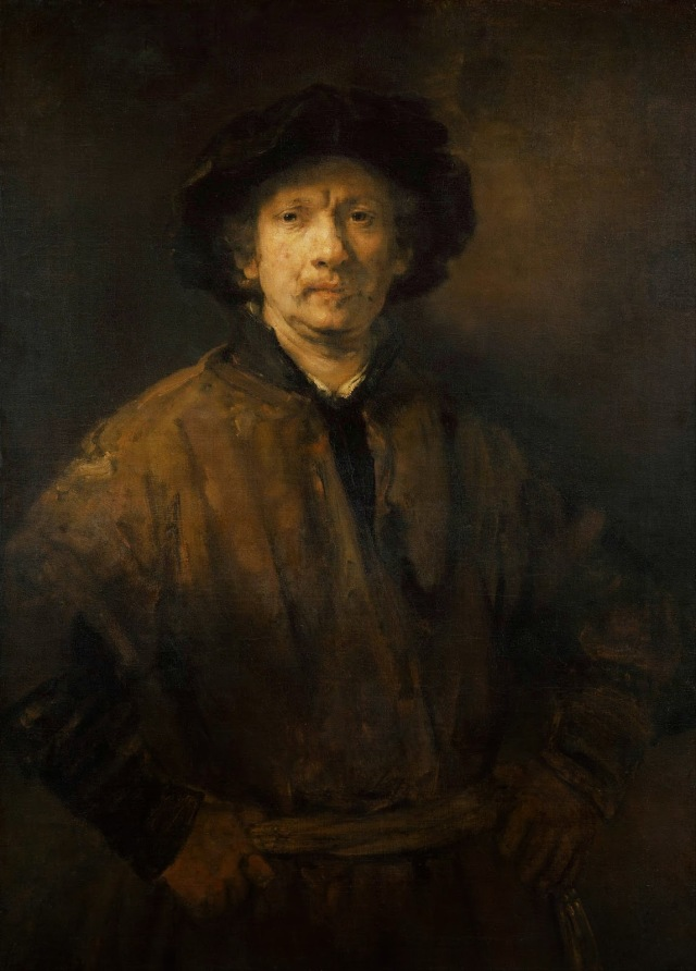1652 Self-Portrait oil on canvas 112 x 81.5 cm Kunsthistorisches Museum, Vienna