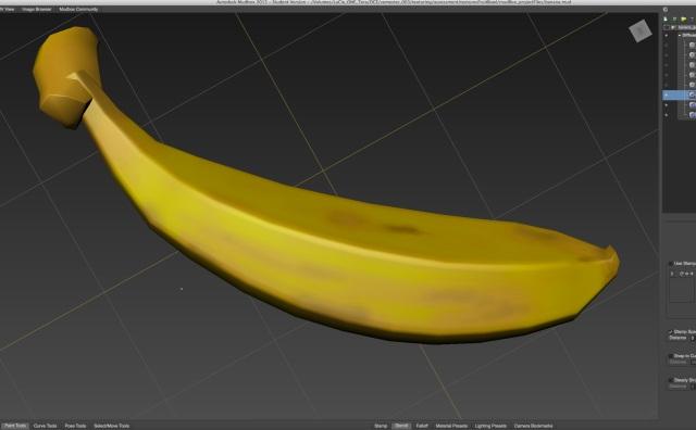 bananaLightDarkLayer