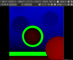 focal-plane setup enabled (green area is in focus)